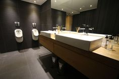 Office & Workspace, Creating Useful Office Restroom Design: Office Restroom Interior Design By Inhouse Brand Architects Union