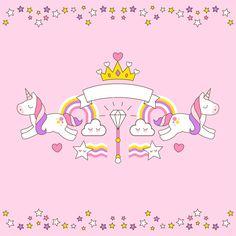 Allenjoy photo background Birthday Background Decor Pink Unicorn Crown Stars Children Custom fond Background for photo vinyl Real Unicorn, Black Unicorn, Unicorn Horse, Rainbow Unicorn, Unicorn Birthday Parties, Unicorn Party, Pegasus, Birthday Background, Star Children