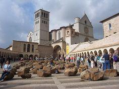 San Francesco basilica square