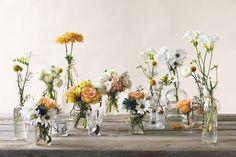 love these wildflower centerpieces Wildflower Centerpieces, Sunflower Centerpieces, Floral Centerpieces, Farm Wedding, Wedding Shoot, Wedding Table, Rustic Wedding, Wedding Ideas, Floral Wedding