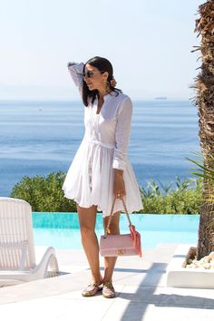 Little white dress by Stella Asteria | Fashion