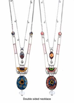 Swell / Afro Dizzy Necklace  Ayala Bar Radiance Collection Fall - Winter 2016-17