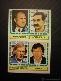 ESTE 1983-1984 CARDO-AZKARGORTA-MENOTTI-CLEMENTE ENTRENADORES COLOCA 83-84 NUEVO NUNCA PEGADO / CROMOS DE FUTBOL EN TODOCOLECCION