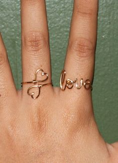 pretty rings, definitely want to try this DIY