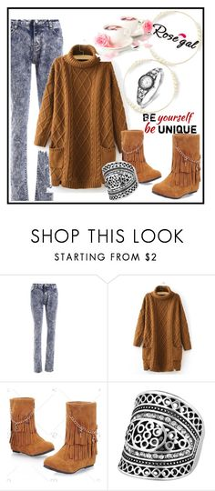 """""""Rosegal 22"""" by aazraa ❤ liked on Polyvore"""