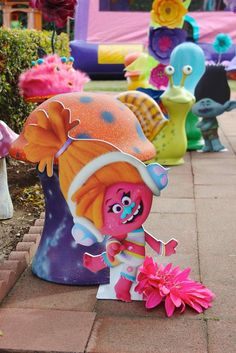 Trolls Birthday Party Ideas | Photo 12 of 30