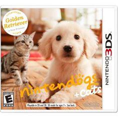 Nintendogs + Cats Golden Retriever 3DS