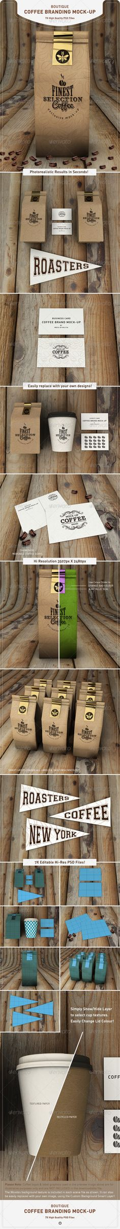 Coffee Bag Mock-Up | Coffee Branding Mock-Up
