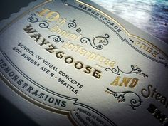 Discover more of the best Wayzgoose-Invitation, Jpg, and Design inspiration on Designspiration Invitation Paper, Invitation Envelopes, Invitation Design, Paper Packaging, Packaging Design, Typography Letters, Typography Design, Design Package, Vintage Type