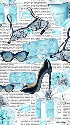 Cellphone Wallpaper, Iphone Wallpaper, Cute Backgrounds, Tiffany Blue, Happy Planner, Flower Patterns, Scrapbooking, Girly, Clip Art