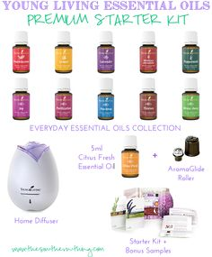 Getting Started With Essential Oils: How To Use   & Save Money Buying Them