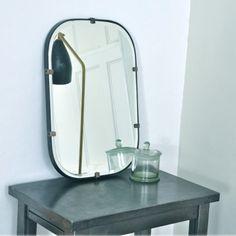 Black Frame Mirror S