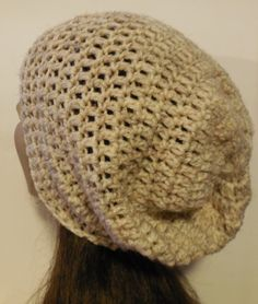 Super Slouch Beanie Wheat by DoodadsFromMars on Etsy, $18.00