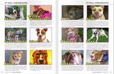 Pit Bull Ambassadors in American Dog Magazine