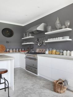 farm house kitchen with color - Google Search