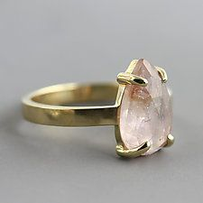Gold & Stone Ring by Sarah Hood