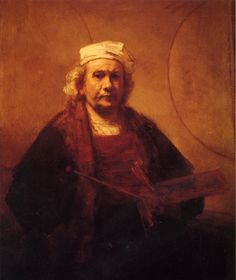 Rembrandt, Self-Portrait, 1661, London, Kenwood.