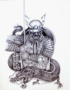 Traditional Japanese Samurai. NEXT tattoo maybe