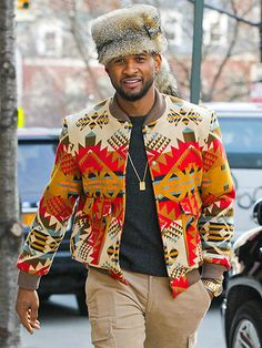 Really Usher. African Shirts For Men, African Attire For Men, African Wear, African Dress, African Inspired Fashion, African Print Fashion, Africa Fashion, African Fashion Dresses, Nigerian Men Fashion