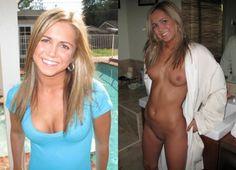 Beautiful blonde amateur MILF babe naked!
