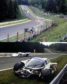Stefan Bellof crash at the Nurburgring Nordschleife 1000 Km