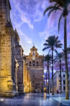 Tower of the Cathedral of Almeria, Spain This is my town! Madrid, Spain And Portugal, Kirchen, Spain Travel, Travel Photographer, Cabo, Places To See, Travel Inspiration, Beautiful Places