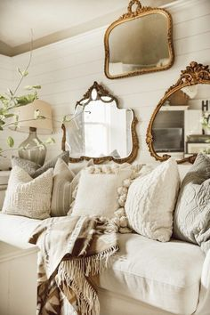 47 Adorable French Country Living Room Interior Decoration Ideas To Have . - 47 Adorable French Country Living Room Interior Decoration Ideas To Have – 47 Adorable French Cou - French Country House, Farm House Living Room, Country Decor, Living Room Decor Country, Living Room Decor, Living Room Interior, Living Decor, Chic Home Decor, Country Living Room