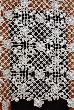 Macrame Lace Curtains Curtain Romance French