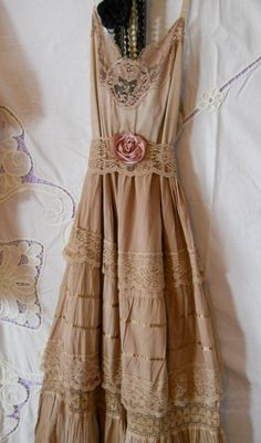 tea stain dress