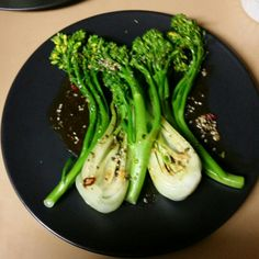 Asian Greens w shun tung sauce