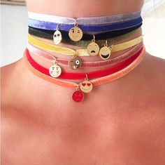 Choose your face, choose your color! Purchase your chokers exclusively on our site!!!