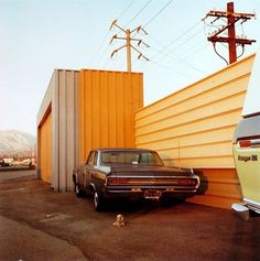 William Eggleston is cool as F***. Makes me think of retro police shows from America.   I'd really like to go explore the USA one day. For now though I'm stuck in 'Great' Britain.