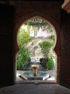 Moorish Fountain by No One Nels, via Flickr