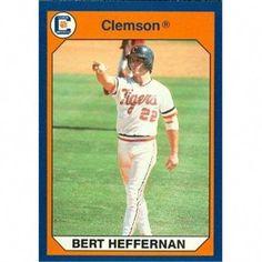 Autograph Warehouse 96940 Bert Hefferman Baseball Card Clemson 1990 Collegiate Collection No. Clemson Baseball, Baseball Jerseys, Baseball Hats, Baseball Equipment, Baseball Savings, Sports, Cards, Hs Sports, Baseball Caps