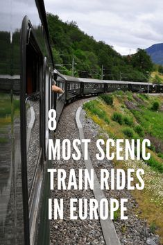 8 Most Scenic Train Rides in Europe - Stunning scenery - Bridges and Viaducts - Find them here - Bernina Express - Flam Railway