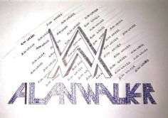 #alanwalker logo by me For all #walkers