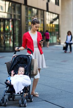 On the Street…..Seventh Ave., New York via Sartorialist
