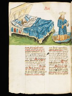 e-codices – Virtual Manuscript Library of Switzerland Medieval Books, Medieval Life, Medieval Manuscript, Illuminated Letters, Illuminated Manuscript, Medieval Bedroom, Medieval Furniture, 242, Book Of Hours