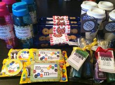 Here is what I did this year for teacher appreciation. One gift per teacher per day. Equals out to roughly $1.00 per gift;) gotta keep it cheap since my daughters school switches classes for 6th grade;)