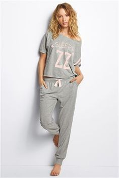 Frugal Womens Slogan Nightwear Range 100% Cotton Jersey Pyjamas Robe Gown Nightie Size Clothing, Shoes & Accessories Sleepwear & Robes