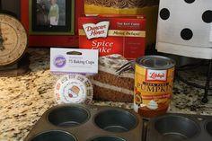 Easy Pumpkin Muffins - 180 Calories Each