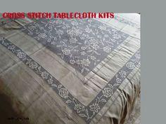 cross stitch tablecloth kits