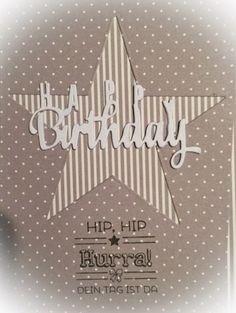 Kulricke Dies and Clearstamps: Happy Birthday Karte!