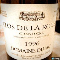 1996 Domaine Dujac Clos de la Roche Grand Cru