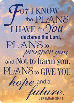"""""""God has plans, not problems for our lives."""" - Corrie Ten Boom {Jeremiah Jesus says you will have troubles in this world there is a one who will temp us but Jesus has overcome the world know the bible and be in a church where the word is taught Scripture Quotes, Bible Scriptures, Faith Quotes, Healing Scriptures, Heart Quotes, Quotes Quotes, Verses In The Bible, Prosperity Scriptures, Hope Scripture"""