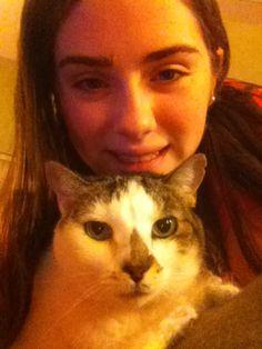 Me and my baby girl!!!!! Luv u, Bailey!!!!!