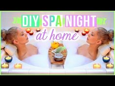 My Pamper Routine - Spa Night - DIY Lush Bath Bomb, Detox Water - MissLizHeart - YouTube