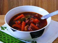 Makacska konyhája: Borscs vagyis orosz céklaleves tavasziason Pot Roast, Thai Red Curry, Food And Drink, Ethnic Recipes, Carne Asada, Roast Beef