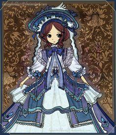 Anime Short Victorian Dresses