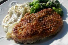 Farmer's Pork Chops Pork Casserole, Casserole Dishes, Casserole Recipes, Pork Chop Recipes, Meat Recipes, Cooking Recipes, Pork Ham, Baked Pork Chops, Chops Recipe